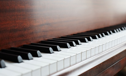 Five ($49) or Ten ($95 ) 45 Minute Music Lessons with Piano, Guitar or Violin at Adamantine Music (Up to $350 Value)