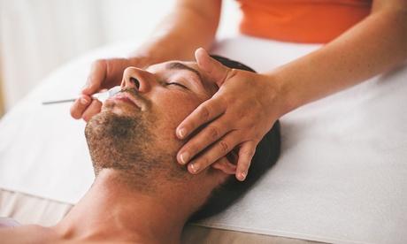 1 o 3 sesiones de tratamiento facial Deluxe Men´s básico o gold desde 19,95 € en Tabatha Oferta en Groupon