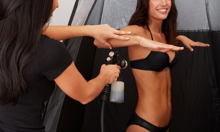One, Three, or Five Five Airbrush Spray-Tan Sessions at Luxurious Sunless Tanning (Up to 68% Off)