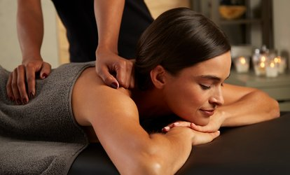 image for 30-Minute Back, Neck and Shoulder or 60-Minute Full-Body Massage at Jessis Nails Spa (Up to 58% Off)