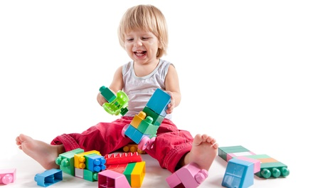 One Month of Play Classes for One or Two Children at Little Giants Developmental & Play Center (Up to 65% Off)
