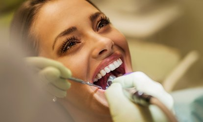 Dental Exam with Scale and Polish and Up to two X-Rays at Warwick Road Dental