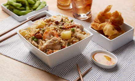 FiveDish Thai Dinner with Beer for Two $39.99 or Six People $117.99 at Thai Kitchen Beer Up to $249 Value