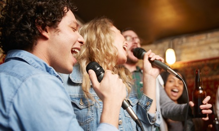 One- or Two-Hour Small or Medium Room Rental at Moonlight Karaoke (Up to 45% Off)