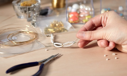 Jewellery Making Class for One, Two or Four at The Number 1 Bead Shop Glasgow (Up to 55% Off)