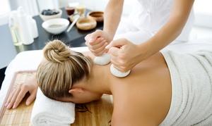 Yoga for Life angelika maria häbel: Ayurveda-Gesichtsbehandlung, Massage o. beide Behandlungen bei Heilpraktikerin Angelika Maria Häbel (bis zu 53% sparen*)