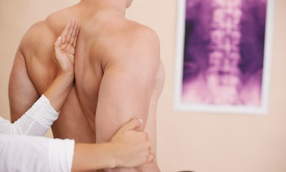 image for Chiropractic Package or One or Two Massages at Kats Chiropractic Center (Up to 91% Off)