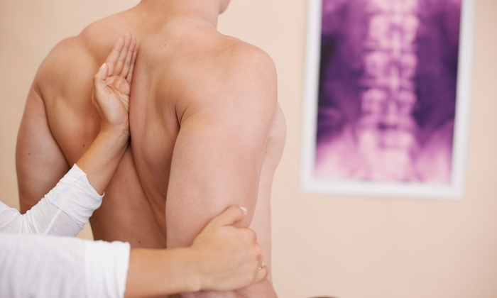 Kats Chiropractic Center - Broken Arrow: Chiropractic Package or One or Two Massages at Kats Chiropractic Center (Up to 89% Off)