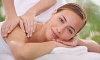 Lava Shell or Bamboo Back Massage with Microdermabrasion Facial at Hair Location (Up to 70% Off)