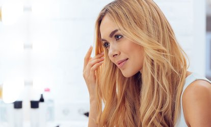 Cut, Blow-Dry with Treatment ($29) or Half Head of Foils ($69) at Salon 42 Hair (Up to $179 Value)