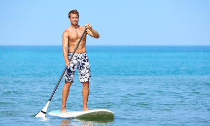 Two-Hour Paddleboard or Kayak Rental at Newport Fun Tours (Up to 70% Off). Four Options Available.