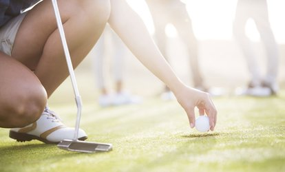 18 Holes of Golf with Sandwich and Coffee for Two or Four at Maywood Golf Club (Up to 50% Off)