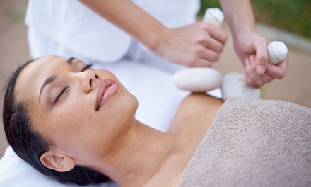 OneHour FullBody Hot Oil Ayurvedic Massage and Consultation at Healing Touch Ayurvedic Herbal Clinic