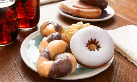 Donuts at Suzy Donuts (Up to 40% Off). Two Options Available. ce3ab02b-7e74-4a27-8f5a-d92a91b340a1