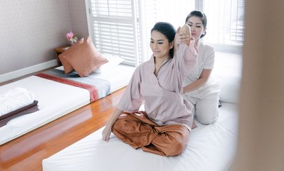 image for 60-Minute <strong>Thai <strong>Massage</strong></strong> or 90-Minute <strong>Thai <strong>Massage</strong></strong> with Head & Feet <strong>Massage</strong> at Lanna Oriental Spa (Up to 48% Off)
