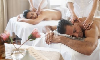 45% Off Couple's Massage at  Wine & Unwind Day Spa
