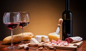 Enoteca Rosso Divino: Degustazione di 3 calici di vino, tagliere casereccio, contorno e dolce all'Enoteca Rosso Divino (sconto fino a 59%)
