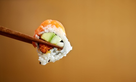 $13 for $20 Worth of Sushi for Two or More at Go Sushi (Up to 35% Off)