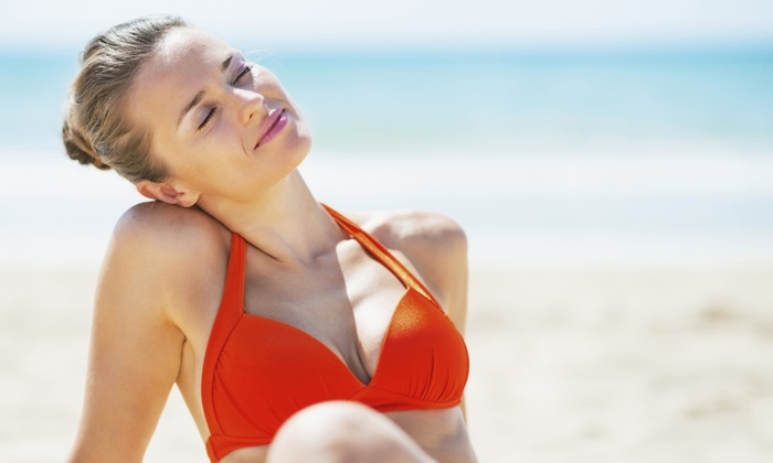 Beach Bum Spray Tan - Oklahoma City: One or Three Mobile Spray Tans at Beach Bum Spray Tan (Up to 59% Off)
