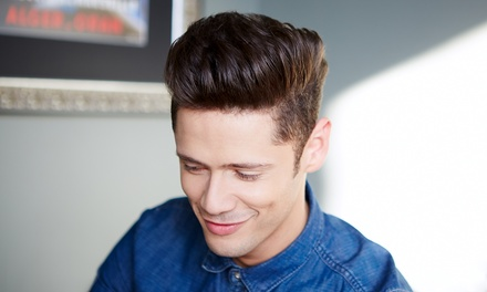 One or Three Gentleman's Haircuts with Beard Detail at SixPenny Salon (Up to 55% Off)