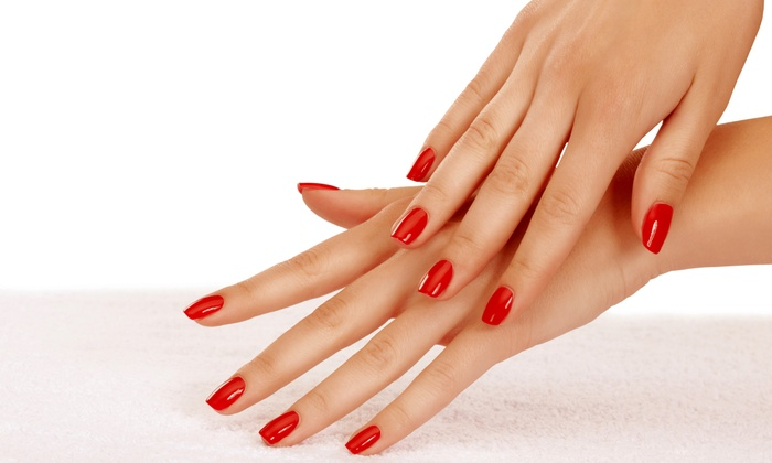 Lisa Bell at Posare Salon - Summerlin: One or Three Gel Manicures, or Gel Manicure with Spa Pedicure from Lisa Bell at Posare Salon (Up to 51% Off)