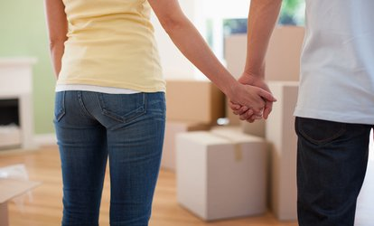 image for Two or Three Hours of Moving Services with Two Movers and One Truck at Qshark Moving Company (Up to 53% Off)