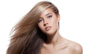 Visi Luque: Sesión de peluquería completa con opción a tinte y/o mechas desde 14,95 € en Visi Luque
