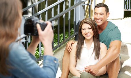 Engagement Photo Shoot with Optional Photo Book from Petal of Light Photography (Up to 73% Off)