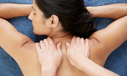One or Three 60-Minute Custom Massages at Lil Press Massage Therapy (Up to56% Off)