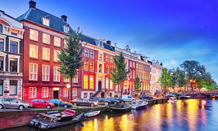 ✈ Amsterdam: 24 Nights at Choice of Hotels with Return Flights*