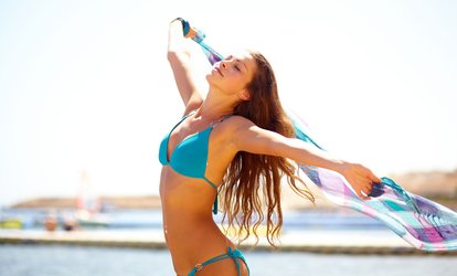 Brazilian or Hollywood Plus Optional Underarms or Lower Legs Waxing at Beauty 24 Fit