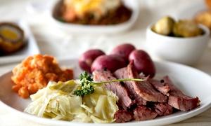 TK Irish Pub & Eatery: $10 for $20 Worth of Breakfast or Lunch at TK Irish Pub & Eatery