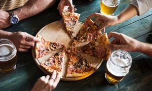 Il Piccolo Garden: Menu con pizza a scelta più birra o vino per 2 o 4 persone al ristorante Piccolo Garden (sconto fino a 64%)