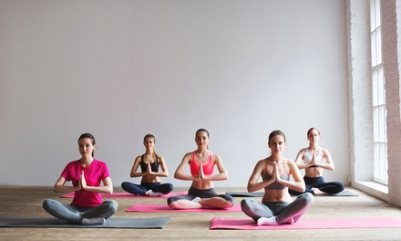 Unlimited Yoga Pass: One ($29), Two ($49) or Three Months ($75) at Breathing Space Studio (Up to $1,200 Value)