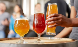 Brewery Tour with Beer Flights and Glasses for Two or Four at Broad Brook Brewing Company (Up to 59% Off)