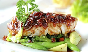 Europa Black Rock Bar and Grill: Mediterranean Cuisine for Two or Four at Europa Black Rock Bar and Grill (Up to 53% Off)
