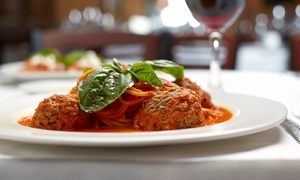 Luna Rossa Ristorante: Italian Cuisine for Two on Sunday–Thursday or Friday–Saturday at Luna Rossa Ristorante (Up to 50% Off)