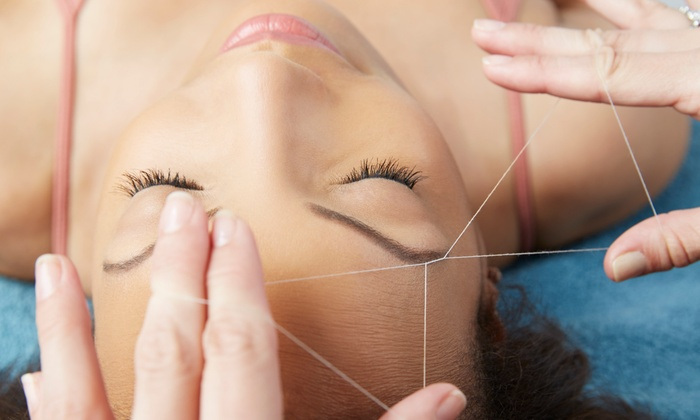Salon 599 - Norwood Centre: Two or Four Eyebrow-Threading Sessions at Salon 599 (Up to 57% Off)