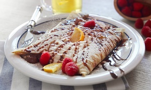 Brooklyn Crepe and Juice Bar: $12 for $20 Worth of Crepes and Juice at Brooklyn Crepe and Juice Bar (40% Off)