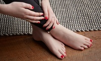 Shellac or Acrylic Manicure or Pedicure or Both at Glamour Box (Up to 62% Off)