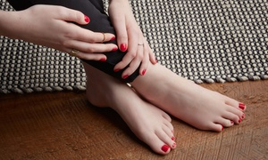 Allure Spa & Salon: Shellac Manicures and Spa Pedicures at Allure Spa & Salon (Up to 35% Off). Five Options Available.
