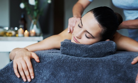 25-Minute Back Massage or 55-Minute Full-Body Massage at Faith Hair & Beauty (Up to 55% Off)