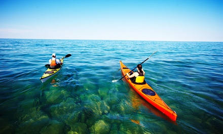 One-Hour Single ($15) or Double Kayak and Dry Bag Hire ($25) at JetBuzz (Up to $55 Value)