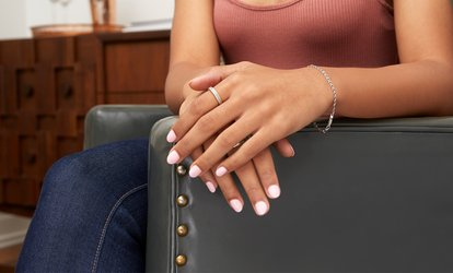 image for Shellac Manicure or Pedicure, Both or Deluxe Pedicure at Chiffon Beauy Spa (Up to 65% Off)