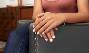 Chiffon Beauy Spa: Shellac Manicure or Pedicure, Both or Deluxe Pedicure at Chiffon Beauy Spa (Up to 65% Off)