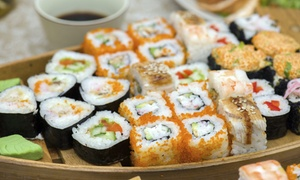 Ebi Sushi (Torino): Menu sushi d'asporto con una o 2 barche da 40 pezzi al ristorante Ebi Sushi, in zona Lingotto (sconto fino a 65%)