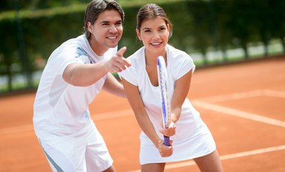 image for Two or Four Tennis Lessons at Wirral Tennis and Sports Centre (Up to 31% Off)