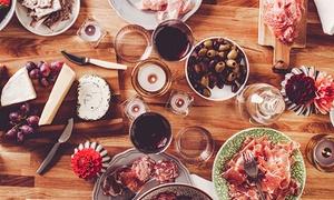 Bar Osteria La Scimmia: Degustazione con 5 calici di vino a testa e tagliere di salumi e formaggi da Bar Osteria La Scimmia (sconto fino a 64%)
