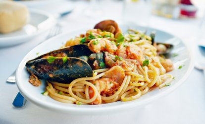 image for Two Entrees for Two or More at Bella Luna Downtown (Up to $30 Value)