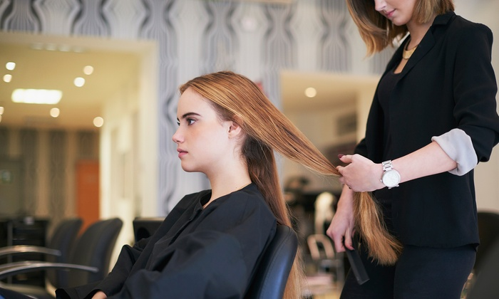 Socrates Beauty - Multiple Locations: Choice of Hair Pamper Package at Socrates Beauty, Valid at 4 Locations (Up to 73% Off)